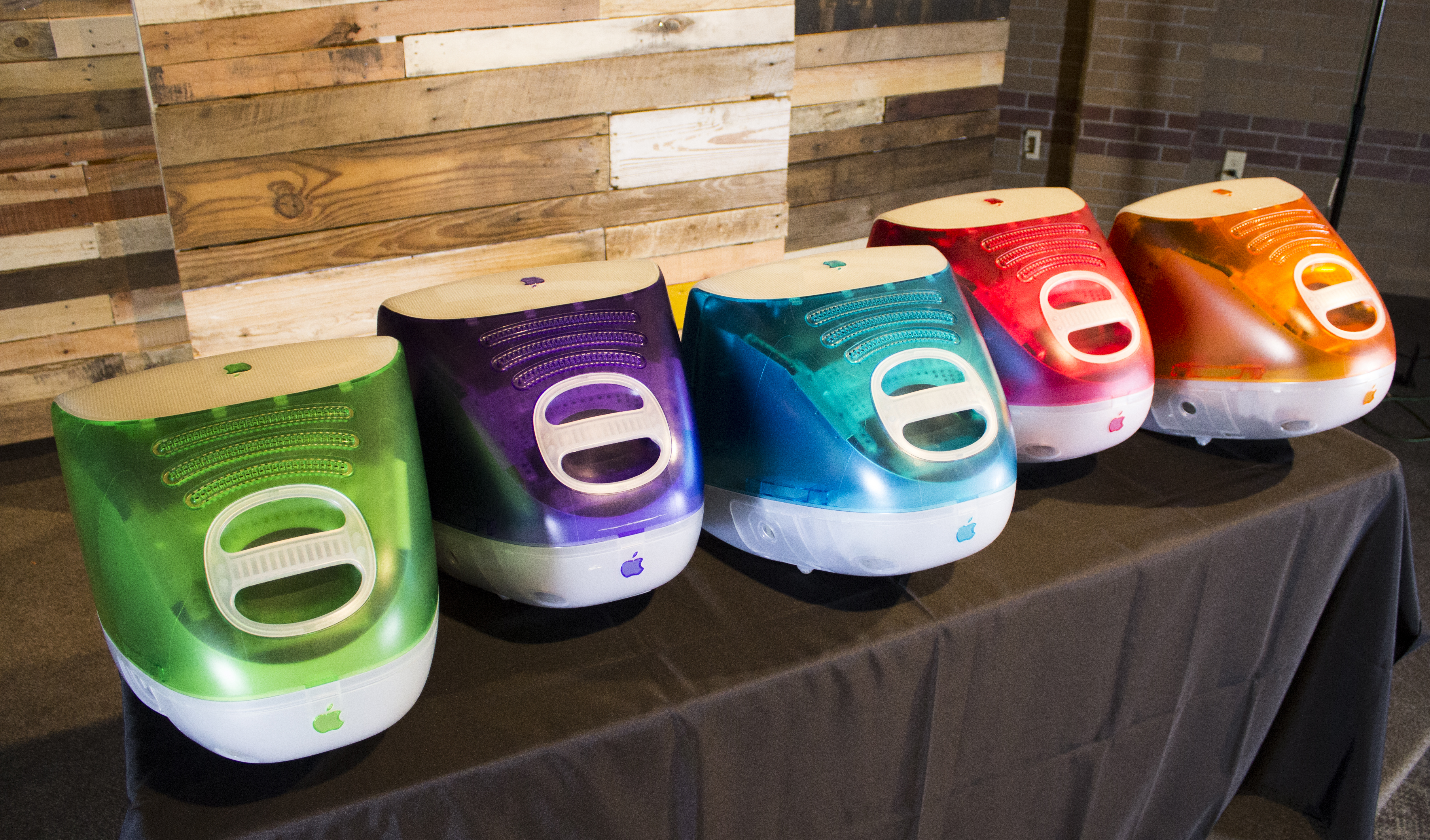 Five Flavor iMacs