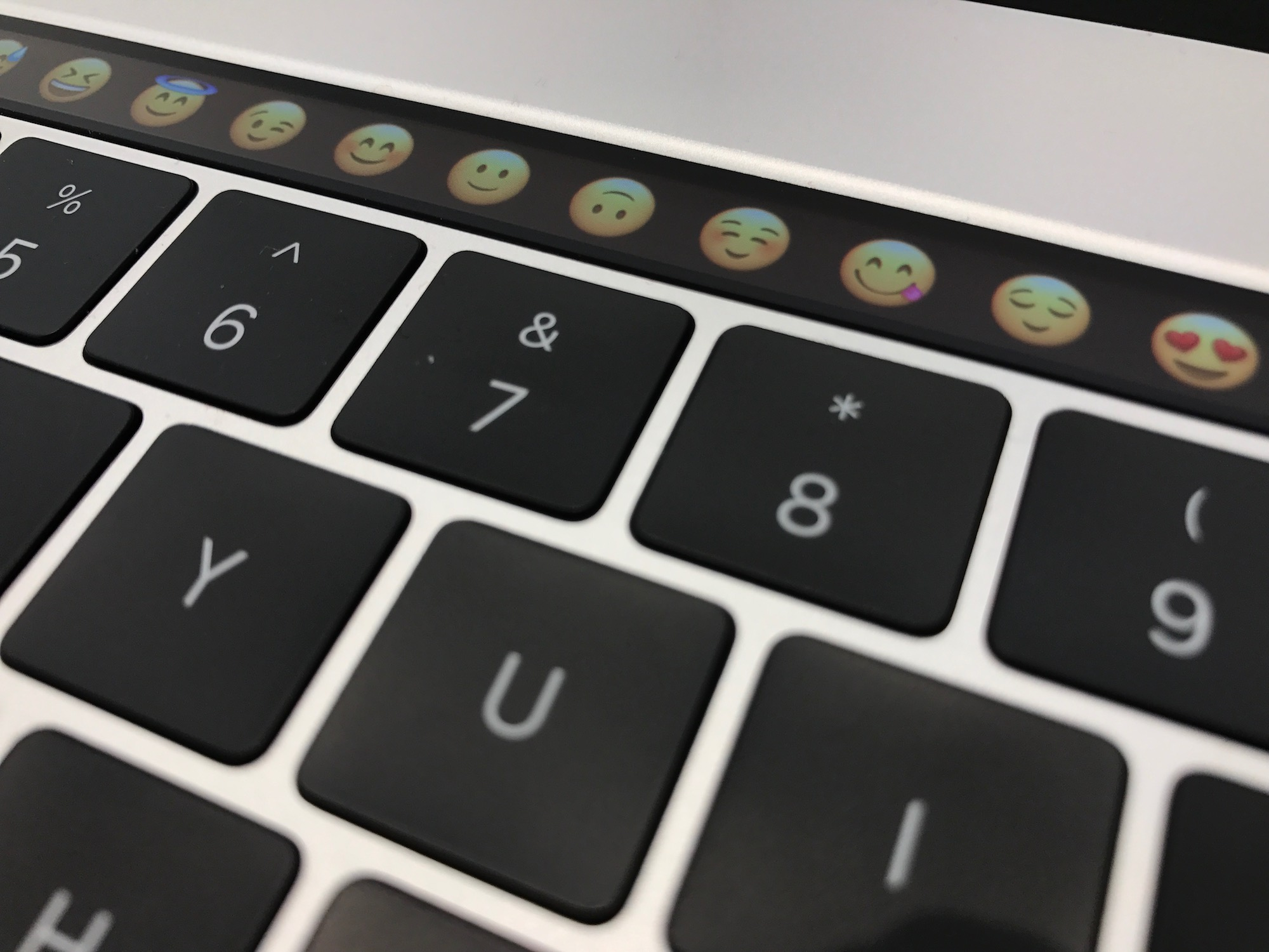 Emoji on the Touch Bar