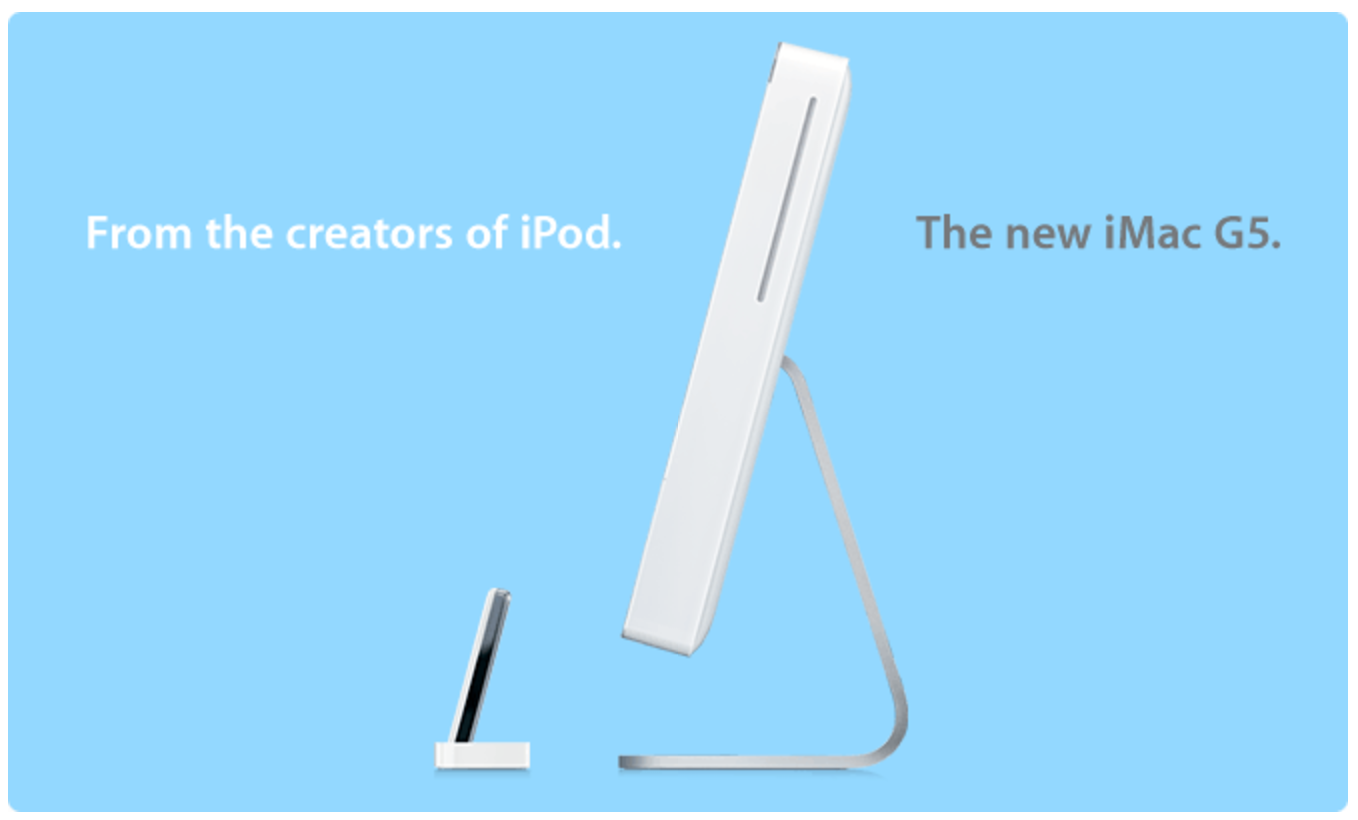 From the creators of iPod