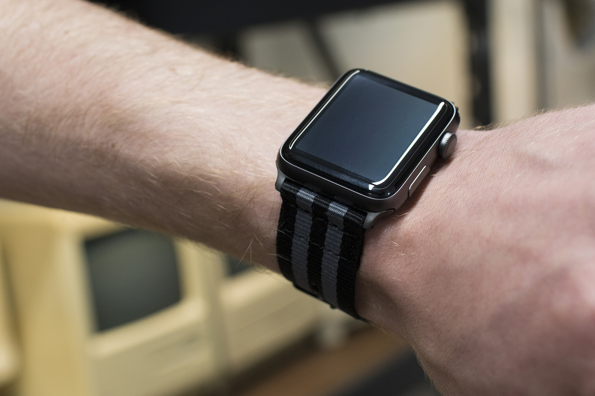 Clockwork Synergy NATO band for Apple Watch
