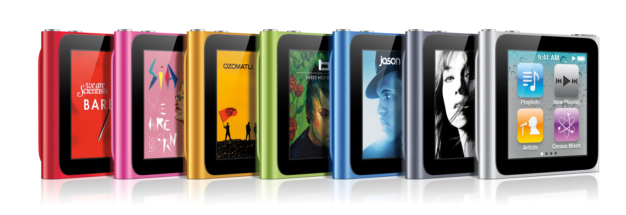 Sixth Generation Ipod Nano Marked Obsolete 512 Pixels