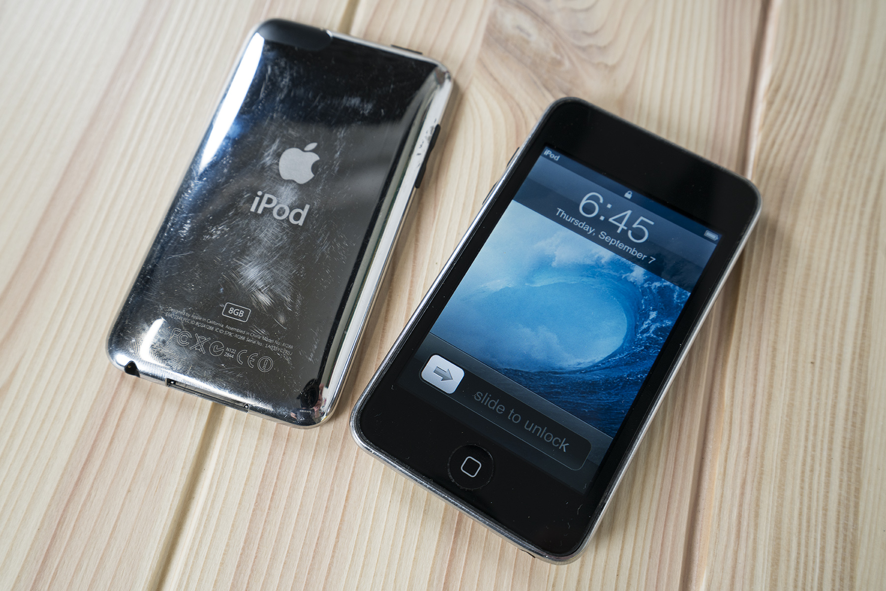 Gen 2 and 3 iPod touch