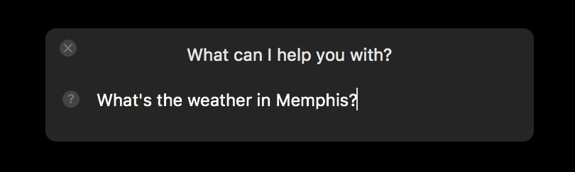 Siri-typing