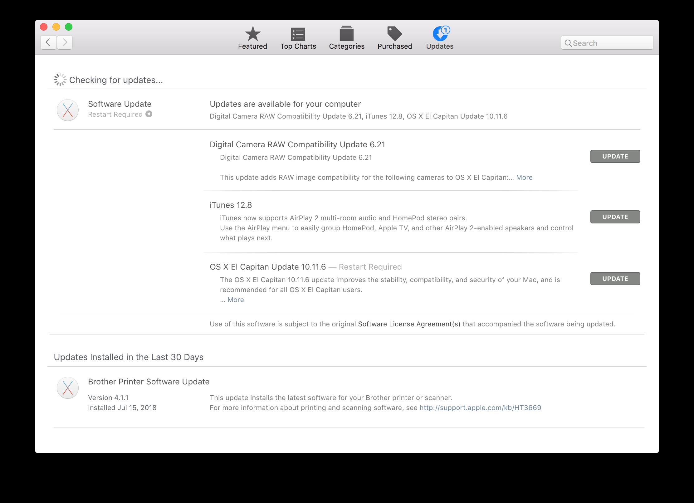 App Store El Capitan