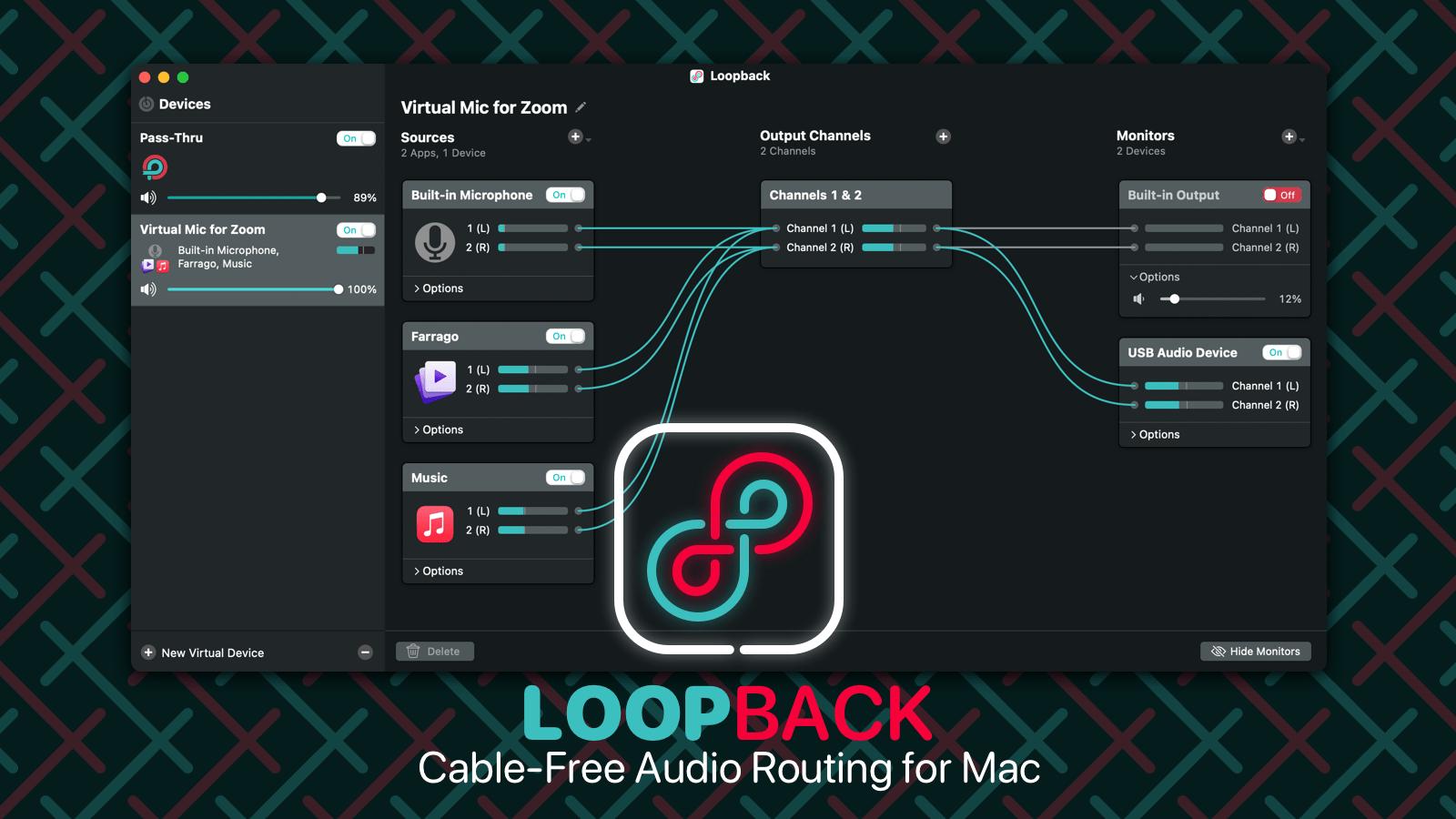 Loopback Loopback from Rogue Amoeba