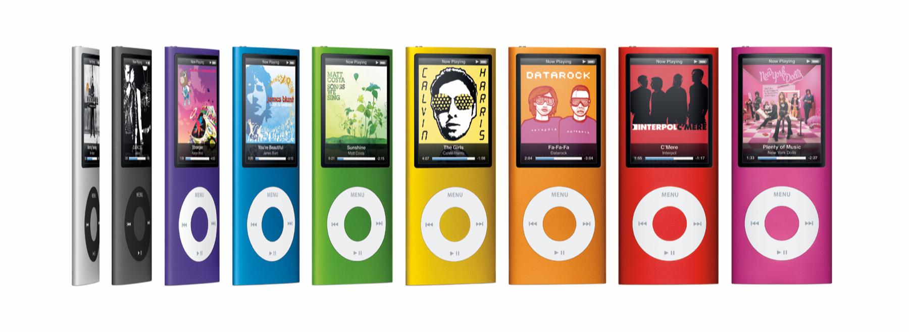 4th-generation iPod nano