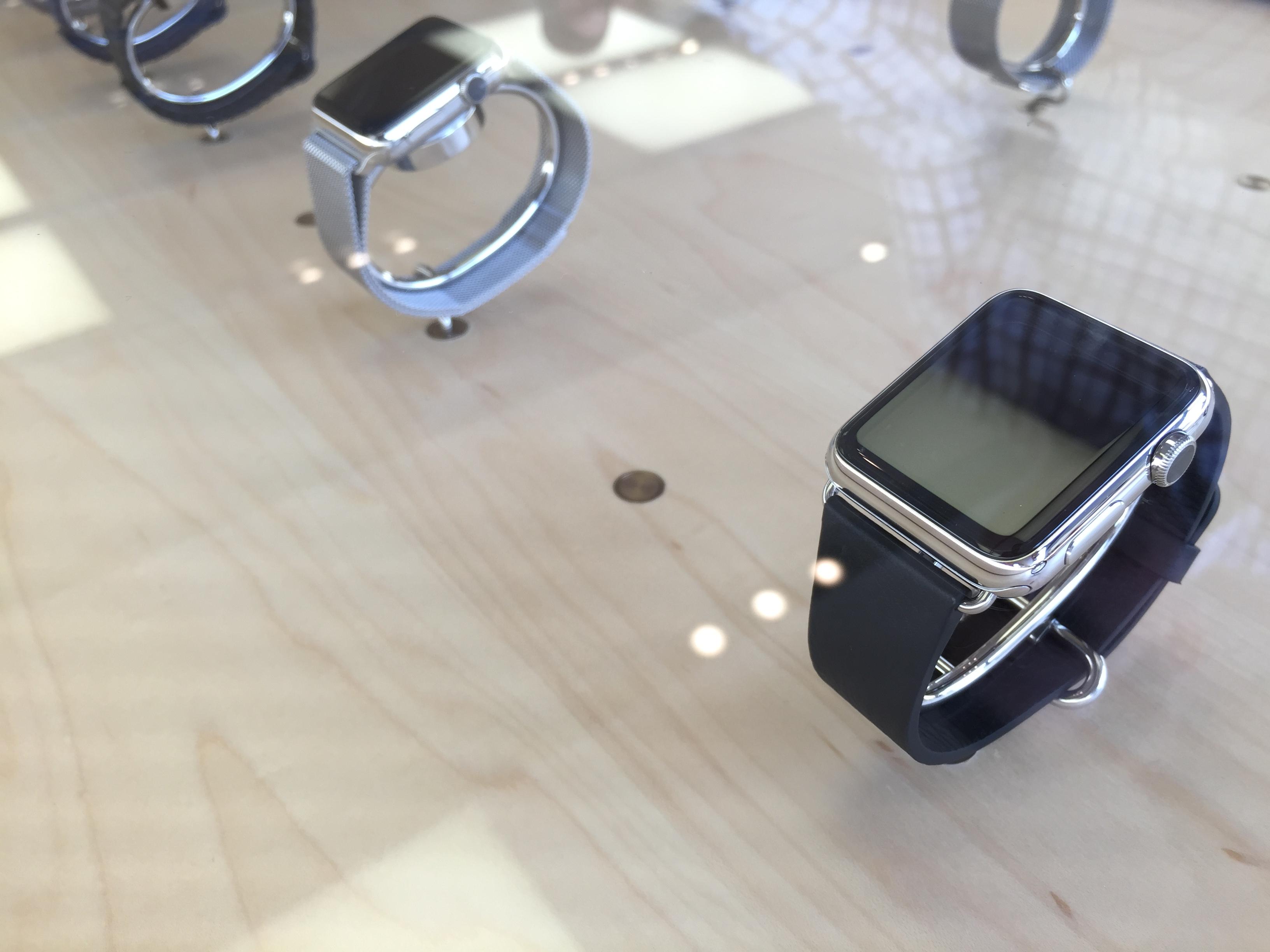 Apple Watch in case