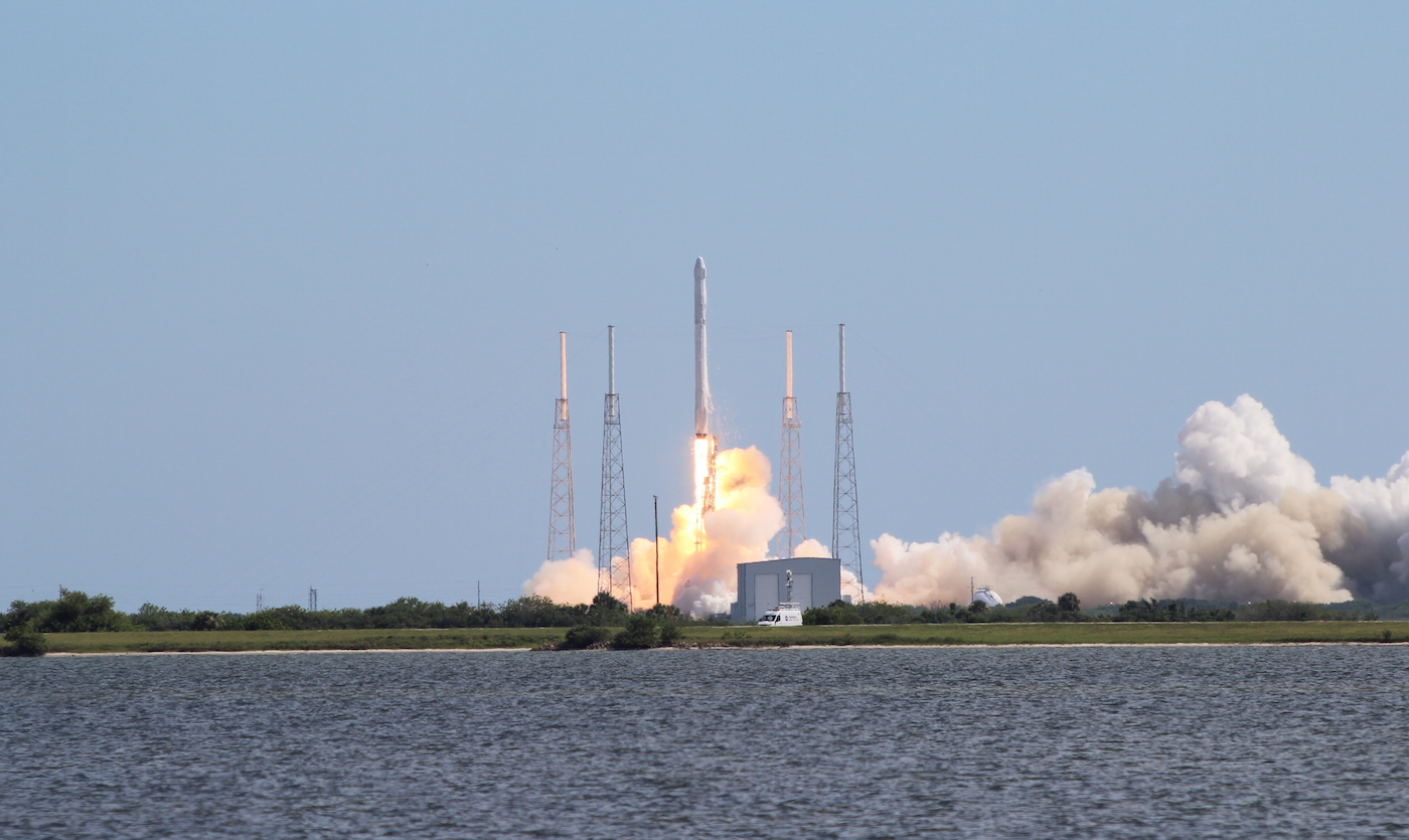 Launch of Space X Falcon 9